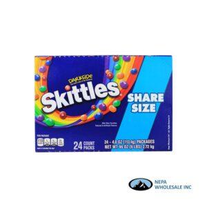 Skittles 24-4oz Share Size Dark Side