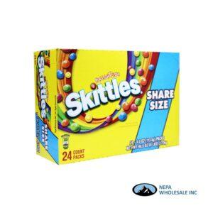 Skittles 24-4 Oz Brightside Share Size