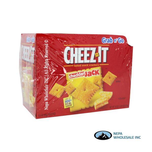Cheez-It 6-3 Oz Cheddar Jack Grab n' Go