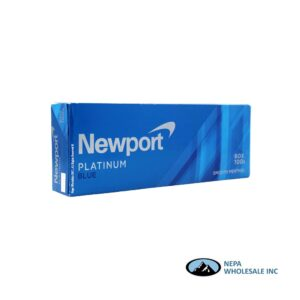 Newport 100's Platinum Blue Smooth Menthol