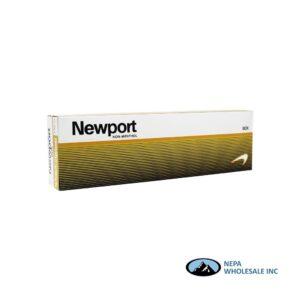 Newport King Non-Menthol Gold