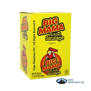 Big Mama 12-2.4Oz Pickled Sausage