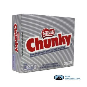 Nestle Chunky 24-1.4oz Candy Bars