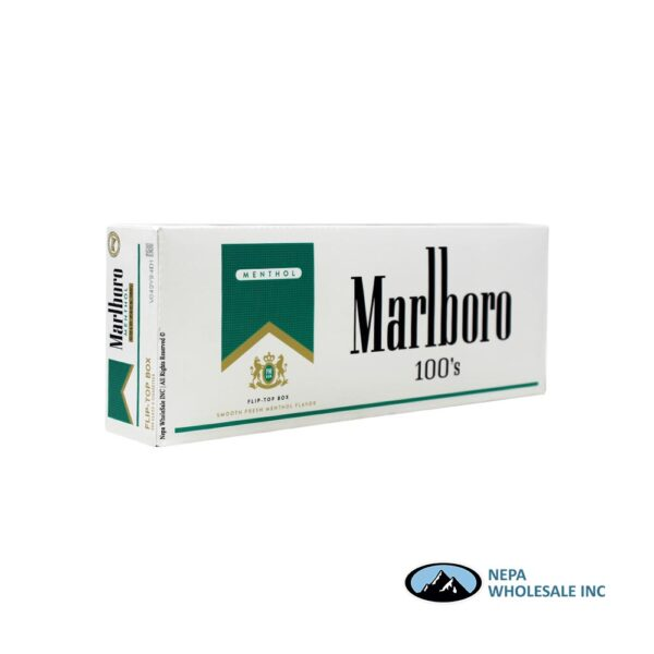 Marlboro 100's Gold Menthol