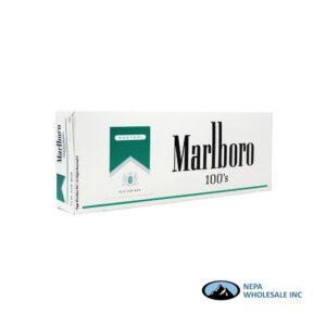 Marlboro 100's Silver Menthol