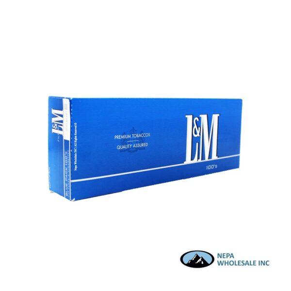 L&M 100's Blue