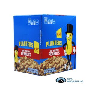Planters 18-1.75 Oz Dry Roasted Peanuts