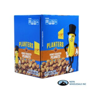 Planters 18-1.75 Oz Honey Roasted Peanuts