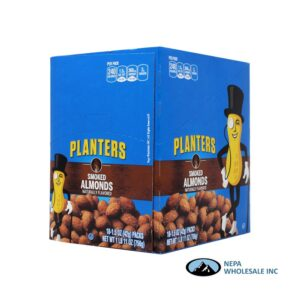 Planters 18-1.5 Oz Smoked Almonds