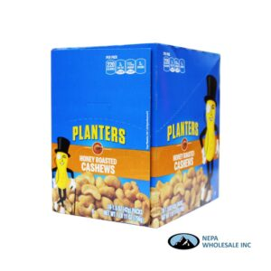 Planters 18-1.5 Oz Honey Roasted Cashews