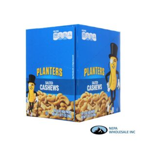 Planters 18-1.5 Oz Salted Cashews