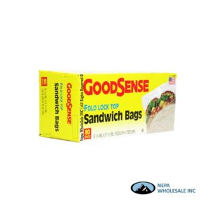 GoodSense Fold Top 80CT Sandwich Bags
