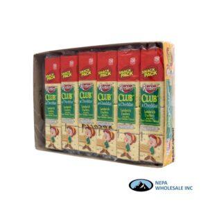 Keebler Club & Cheddar Snack Pack 12-1.8 Oz