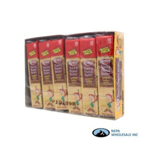 Keebler Toast & Peanut Butter Snack Pack 12-1.8 Oz