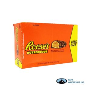 Reese's 18-3.4 Oz Nutrageous King Size