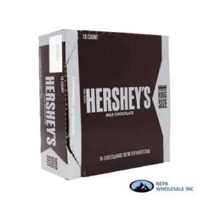 Hershey's 18-2.6 Oz Milk Chocolate King Size