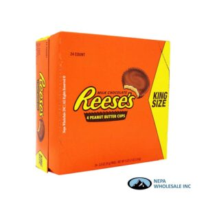 Reese's 24-2.8 Oz 4 Peanut Butter Cups King Size