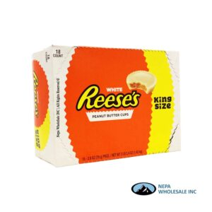 Reese's 18-2.8oz Peanuts Butter white King Size