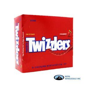 Twizzlers Twists 18-2.5 OZ Strawberry