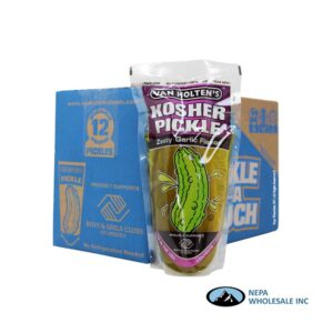 .Pickle In a Pouch 12 CT Kosher Jumbo