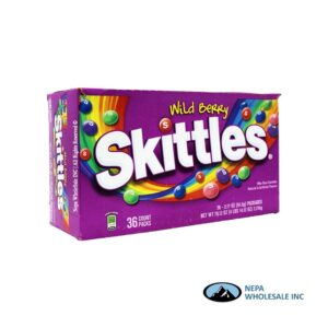 Skittles 36-2.17 Oz Wild Berry