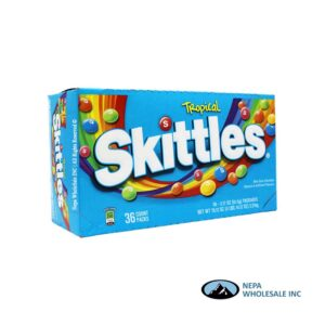 Skittles 36-2.17 Oz Tropical