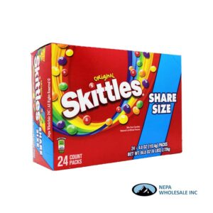 Skittles 24-4 Oz Original Share Size