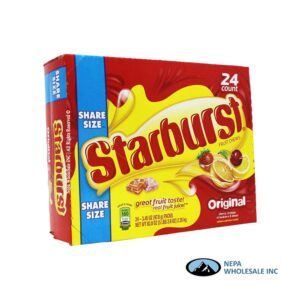 Starburst 24-3.45 Oz Original Share Size