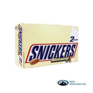 Snickers 24-3.23 Oz Almond 2 to Go