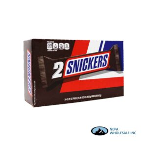 Snickers 24-3.29 Oz Regular 2 to Go