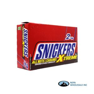 Snickers 24-3.59 Oz King Size All Nuts & Carmel Extreme