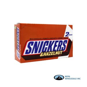 Snickers 24-3.23 OZ Hazelnut 2 to Go