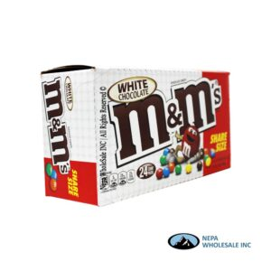 M&M 24-2.47 OZ White Chocolate Share Size