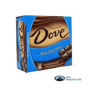 Dove 18-1.44 Oz Milk Chocolate
