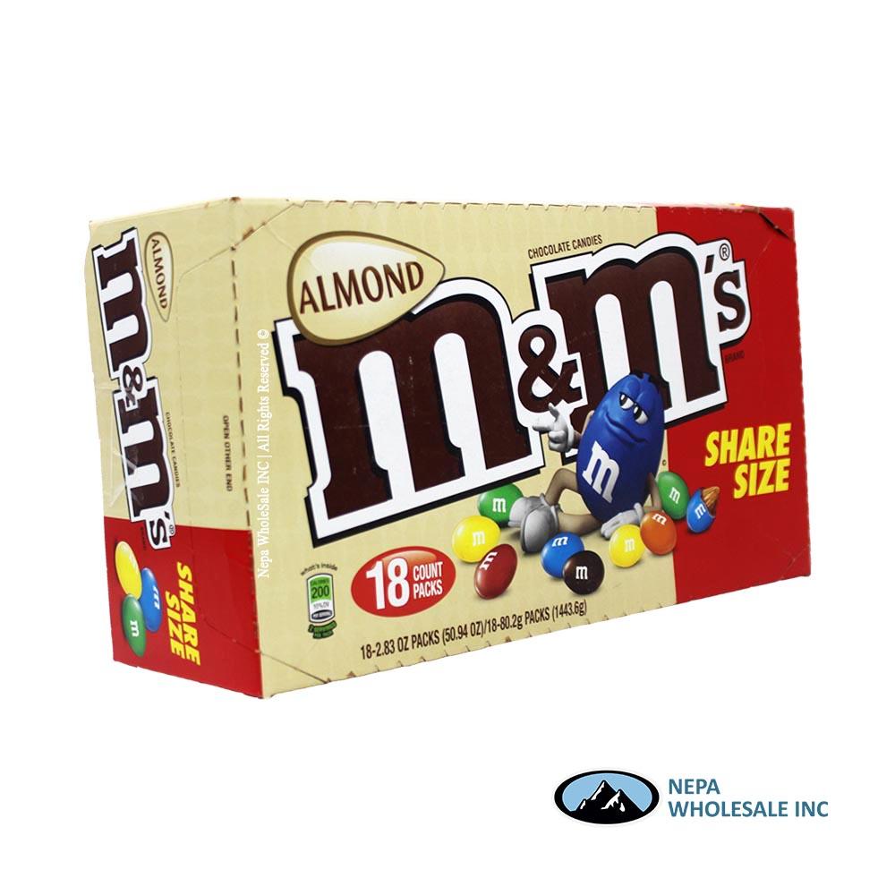 M M 18 2 83 Oz Sharing Size Almond 040000574170 Nepa Wholesale Inc