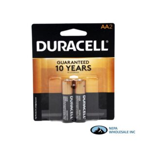 Duracell AA 2PK 1CT Copper Top