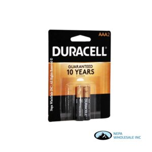 Duracell AAA 2PK 1CT Copper Top