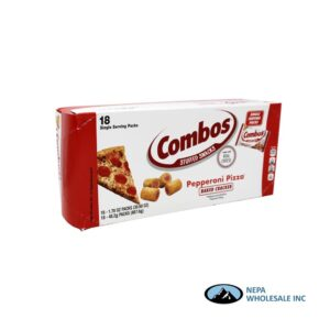 Combos 18-1.5 Oz Pepperoni Pizza Cracker