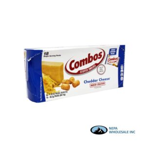 Combos 18-1.5 Oz Cheddar Cheese Cracker