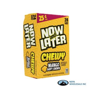 Now & Later 24-.93 Oz Chewy Mango