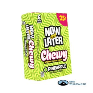 Now & Later 24-.93 Oz Chewy Pineapple