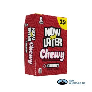Now & Later 24-.93 Oz Chewy Cherry