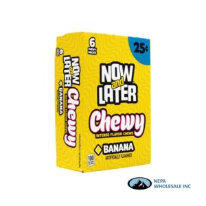 Now & Later 24-.93 Oz Chewy Banana