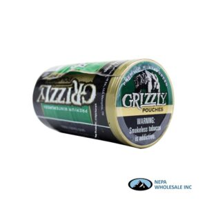 Grizzly 5-0.82 OZ Wintergreen Pouches