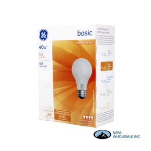 GE Bulb 4 CT 40 Watt
