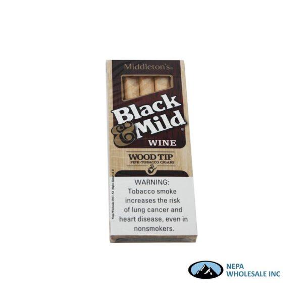 Black & Mild 10-5PK Wine Wood Tip