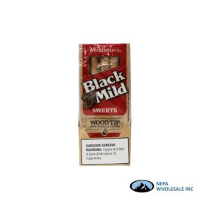 Black & Mild 10-5PK Sweet Wood Tip