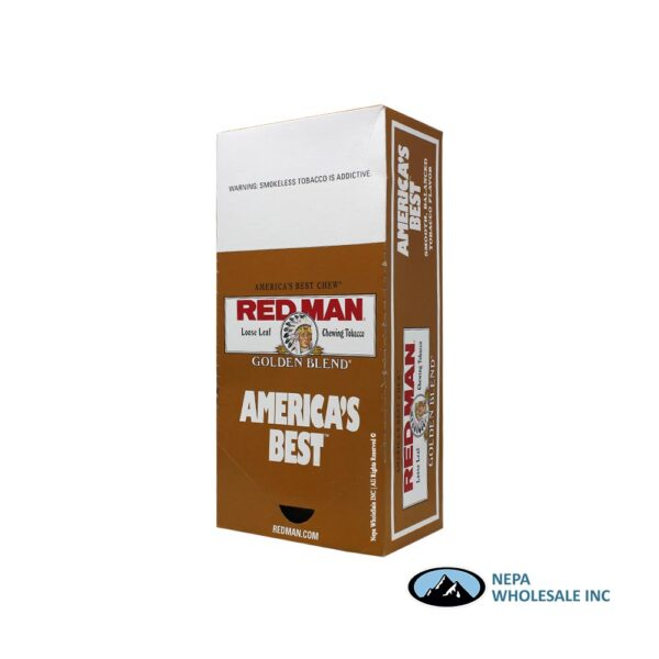 C/T 12-3 Oz Pouches Red Man Gold