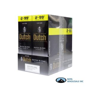 Dutch 2 for $0.99 Dutch Blend Fusion