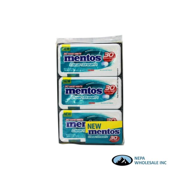 Mentos 12-30 Piece Wintergreen Clean Breath